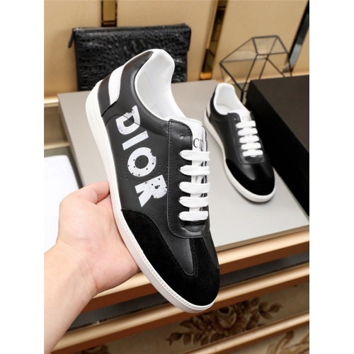 Replica Christian Dior Casual Shoes For Men #784379 $77.60 USD for Wholesale