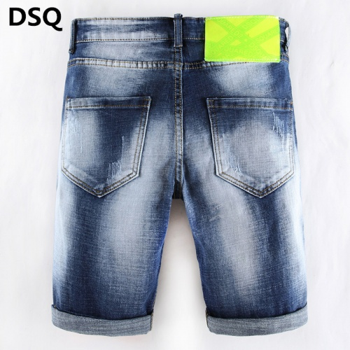 Replica Dsquared Jeans Shorts For Men #784430 $38.80 USD for Wholesale
