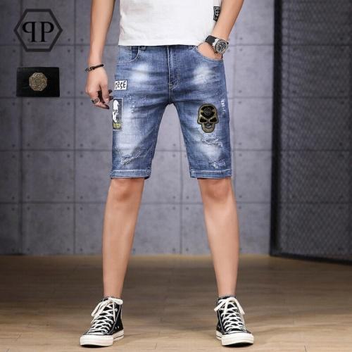 Philipp Plein PP Jeans Shorts For Men #784444