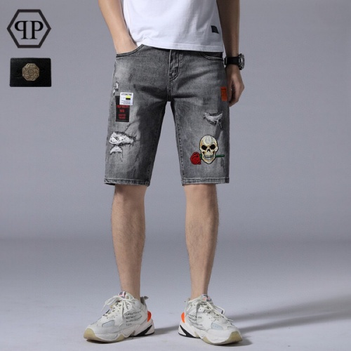 Philipp Plein PP Jeans Shorts For Men #784445