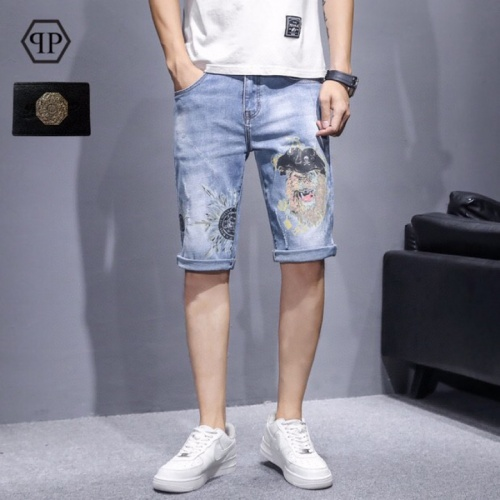 Philipp Plein PP Jeans Shorts For Men #784446
