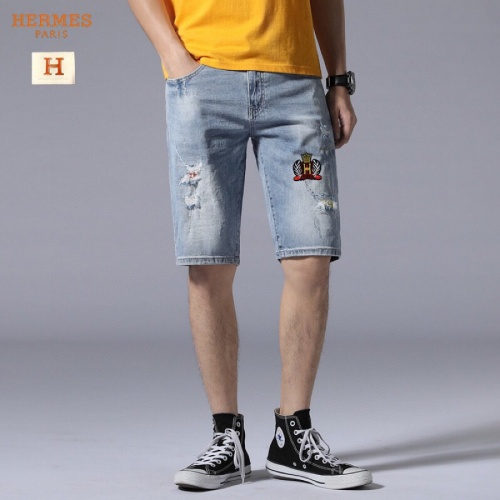 Hermes Jeans Shorts For Men #784455