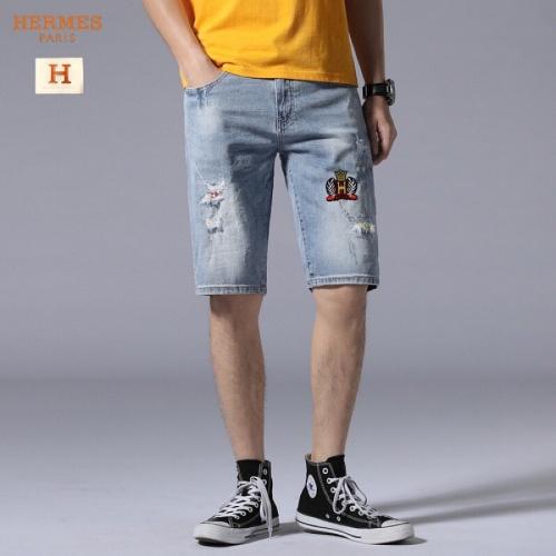 Hermes Jeans Shorts For Men #784455