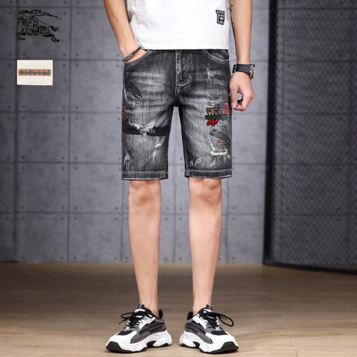 Burberry Jeans Shorts For Men #784456 $38.80 USD, Wholesale Replica Burberry Jeans