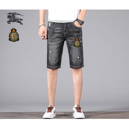 Burberry Jeans Shorts For Men #784457 $38.80 USD, Wholesale Replica Burberry Jeans