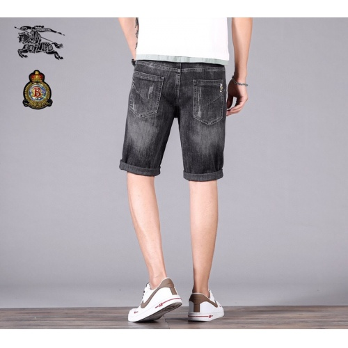 Replica Burberry Jeans Shorts For Men #784457 $38.80 USD for Wholesale