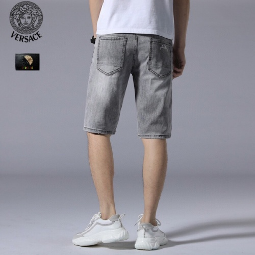 Replica Versace Jeans Shorts For Men #784458 $38.80 USD for Wholesale