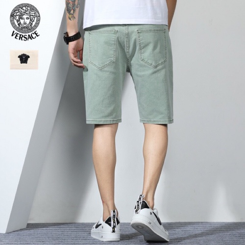 Replica Versace Jeans Shorts For Men #784459 $38.80 USD for Wholesale