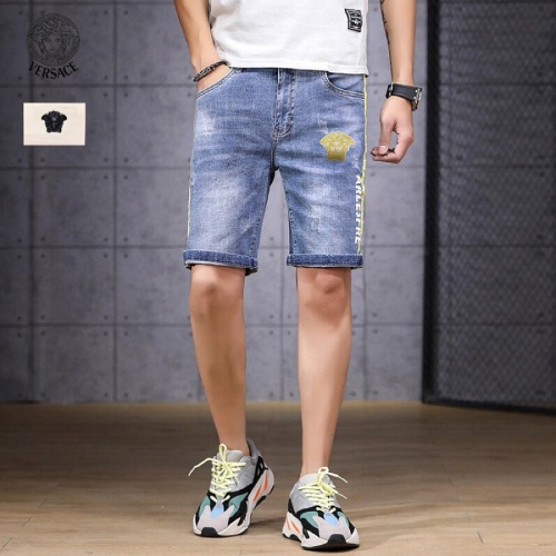 Replica Versace Jeans Shorts For Men #784460 $38.80 USD for Wholesale