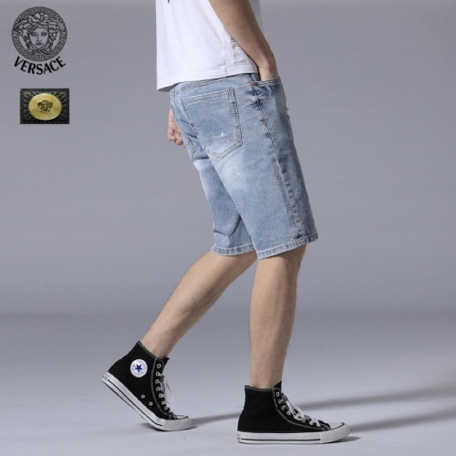 Replica Versace Jeans Shorts For Men #784461 $38.80 USD for Wholesale