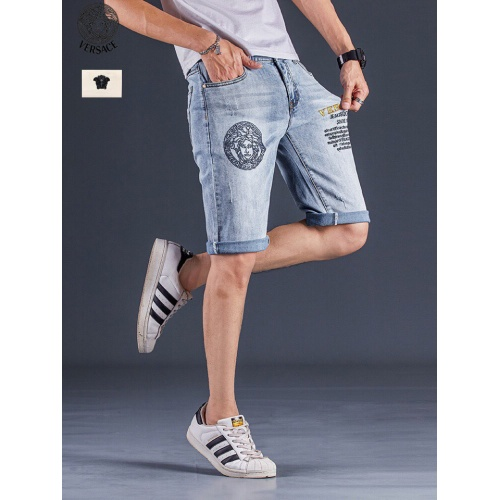 Replica Versace Jeans Shorts For Men #784462 $38.80 USD for Wholesale