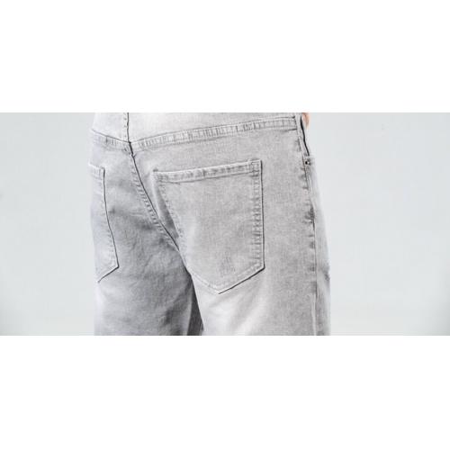 Replica Moncler Jeans Shorts For Men #784478 $38.80 USD for Wholesale