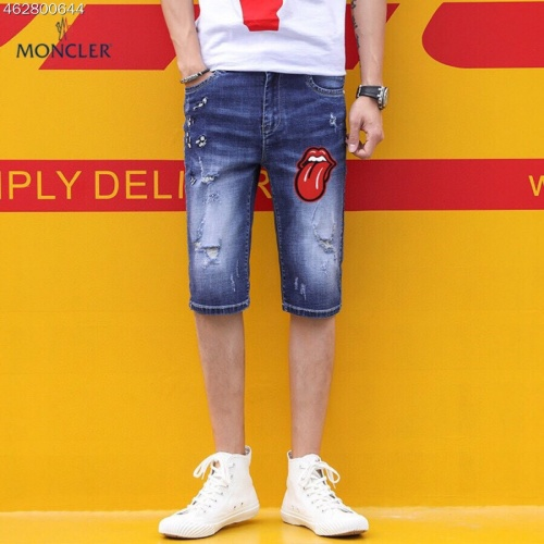 Moncler Jeans Shorts For Men #784479