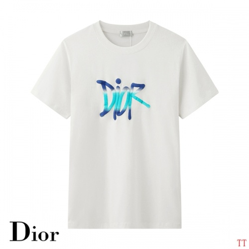 Christian Dior T-Shirts Short Sleeved O-Neck For Men #784522