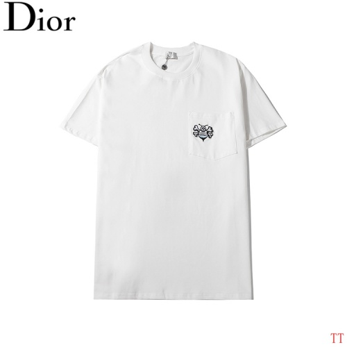 Christian Dior T-Shirts Short Sleeved O-Neck For Men #784527
