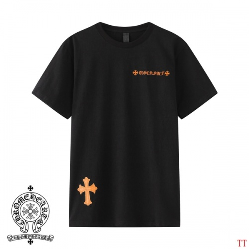 Replica Chrome Hearts T-Shrits Short Sleeved O-Neck For Men #784550 $31.04 USD for Wholesale