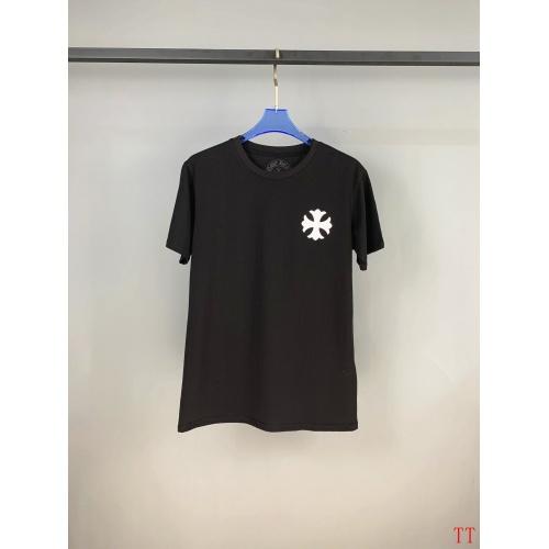 Replica Chrome Hearts T-Shrits Short Sleeved O-Neck For Men #784553 $28.13 USD for Wholesale