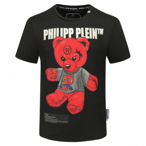 Philipp Plein PP T-Shirts Short Sleeved O-Neck For Men #784708