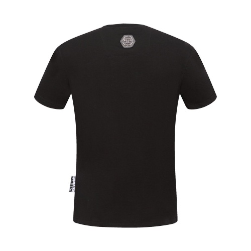 Replica Philipp Plein PP T-Shirts Short Sleeved O-Neck For Men #784708 $26.19 USD for Wholesale