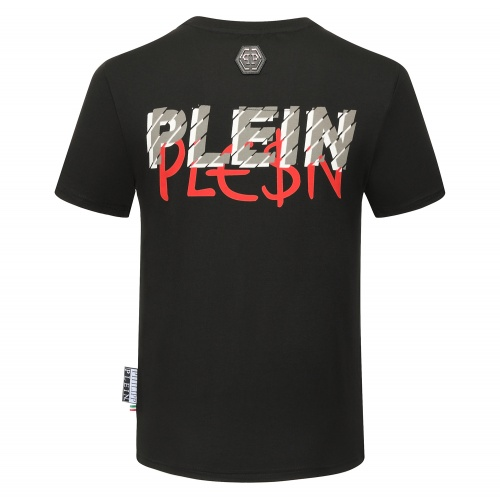 Replica Philipp Plein PP T-Shirts Short Sleeved O-Neck For Men #784718 $26.19 USD for Wholesale