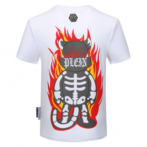 Replica Philipp Plein PP T-Shirts Short Sleeved O-Neck For Men #784722 $26.19 USD for Wholesale