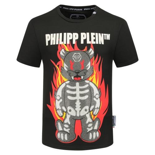 Philipp Plein PP T-Shirts Short Sleeved O-Neck For Men #784723 $26.19 USD, Wholesale Replica Philipp Plein PP T-Shirts