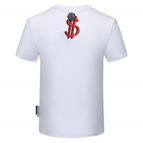 Replica Philipp Plein PP T-Shirts Short Sleeved O-Neck For Men #784724 $26.19 USD for Wholesale
