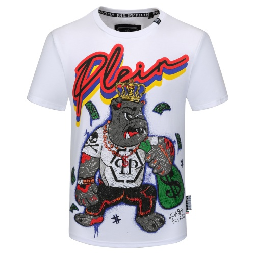 Philipp Plein PP T-Shirts Short Sleeved O-Neck For Men #784727