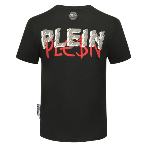 Replica Philipp Plein PP T-Shirts Short Sleeved O-Neck For Men #784728 $26.19 USD for Wholesale