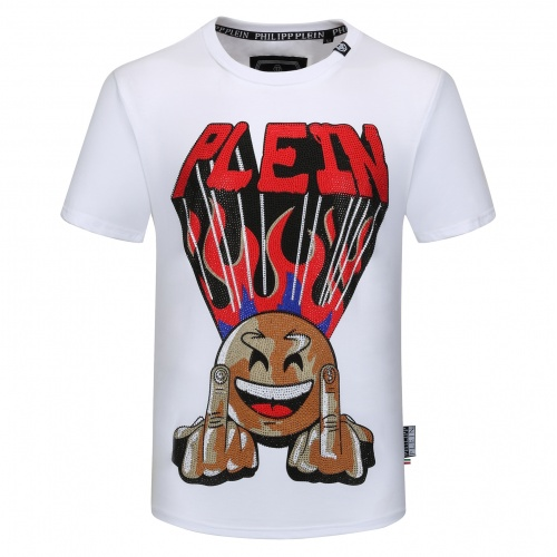 Philipp Plein PP T-Shirts Short Sleeved O-Neck For Men #784729 $26.19, Wholesale Replica Philipp Plein PP T-Shirts