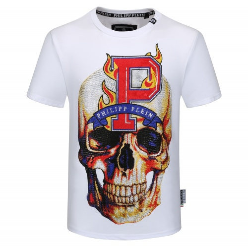 Philipp Plein PP T-Shirts Short Sleeved O-Neck For Men #784732