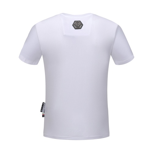 Replica Philipp Plein PP T-Shirts Short Sleeved O-Neck For Men #784732 $26.19 USD for Wholesale