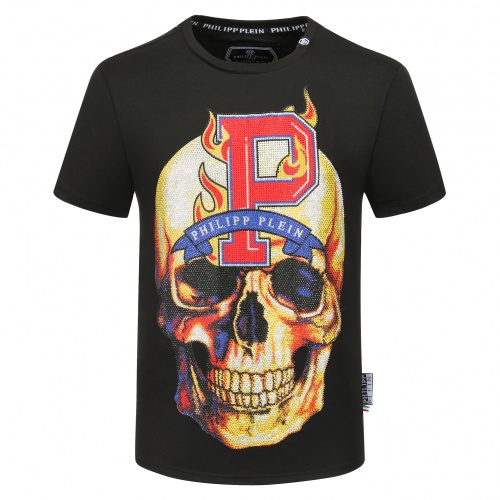 Philipp Plein PP T-Shirts Short Sleeved O-Neck For Men #784733