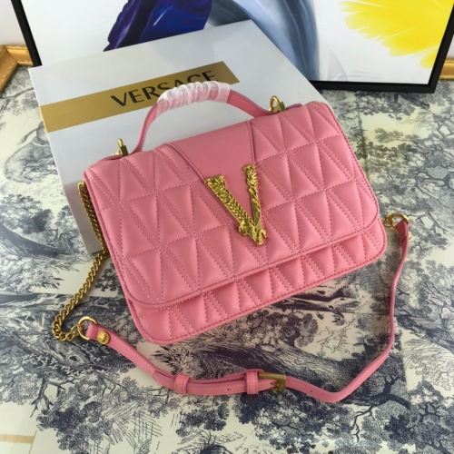 Versace AAA Quality Messenger Bags #784904 $150.35 USD, Wholesale Replica Versace AAA Quality Messenger Bags