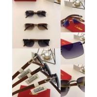 $54.32 USD Cartier AAA Quality Sunglasses #776434