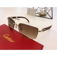 $54.32 USD Cartier AAA Quality Sunglasses #776435