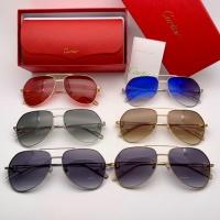 $47.53 USD Cartier AAA Quality Sunglasses #777229