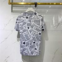 $40.74 USD Christian Dior T-Shirts Short Sleeved O-Neck For Men #778536