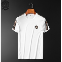 $62.08 USD Versace Tracksuits Short Sleeved O-Neck For Men #784059
