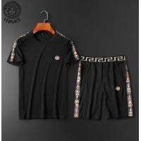 $62.08 USD Versace Tracksuits Short Sleeved O-Neck For Men #784060