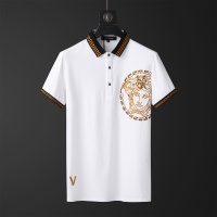 $65.96 USD Versace Tracksuits Short Sleeved Polo For Men #784073