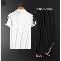 $65.96 USD Versace Tracksuits Short Sleeved O-Neck For Men #784097