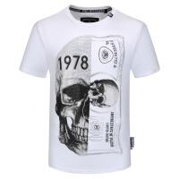 $26.19 USD Philipp Plein PP T-Shirts Short Sleeved O-Neck For Men #784731