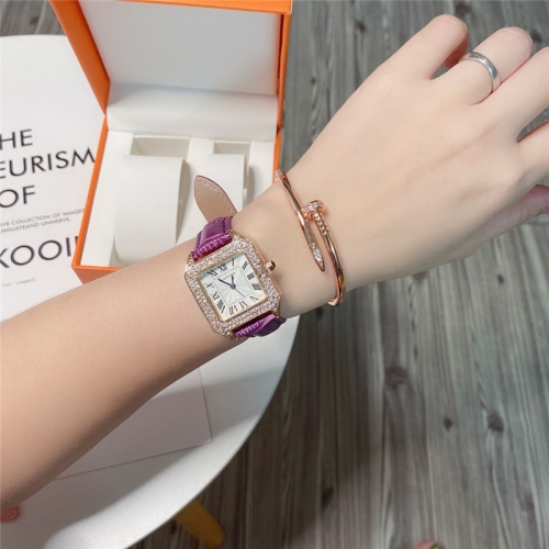 Replica Cartier Watches For Women #785253 $31.04 USD for Wholesale