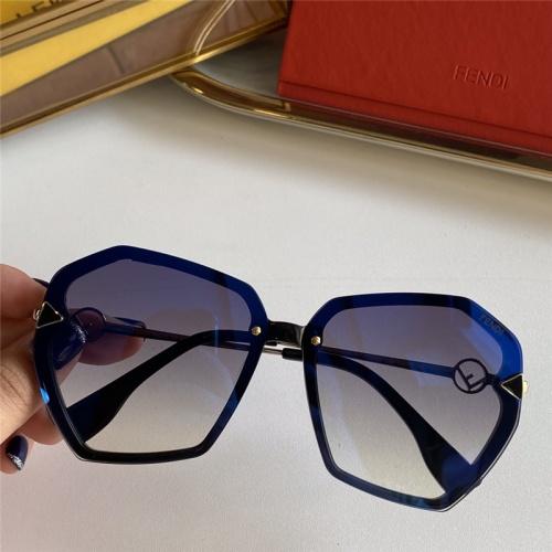 Fendi AAA Quality Sunglasses #785263