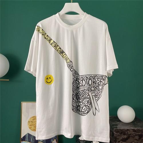 Christian Dior T-Shirts Short Sleeved O-Neck For Men #785307