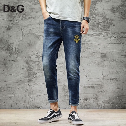 Dolce & Gabbana D&G Jeans Trousers For Men #785318