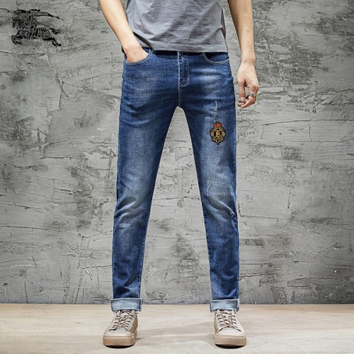 Burberry Jeans Trousers For Men #785346 $43.65 USD, Wholesale Replica Burberry Jeans