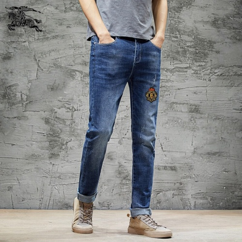 Replica Burberry Jeans Trousers For Men #785346 $43.65 USD for Wholesale