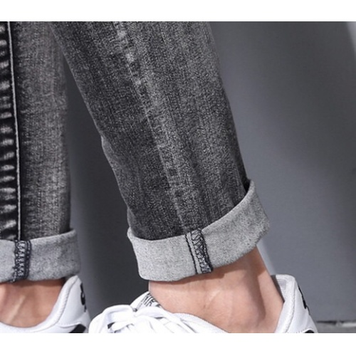 Replica Burberry Jeans Trousers For Men #785347 $43.65 USD for Wholesale